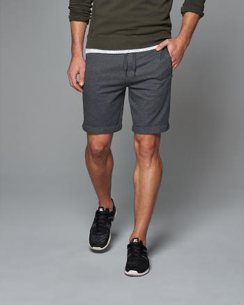 ANF Zip Pocket Fleece Shorts