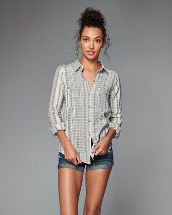 ANF Drapey Shirt