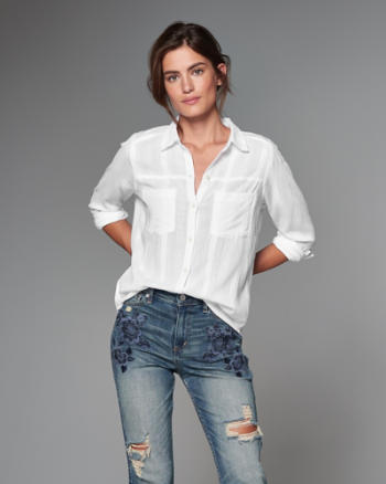 Womens Drapey Shirt