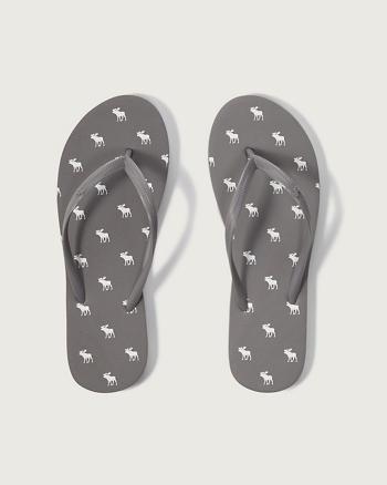 ANF A&F Rubber Flip Flops