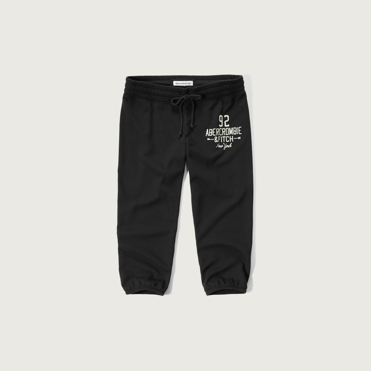 A&F Banded Crop Sweatpants