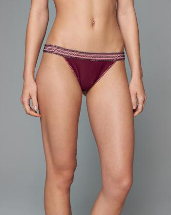 ANF Jacquard Bikini Bottom
