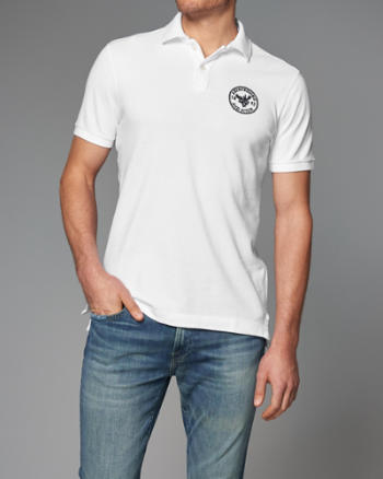 Mens Logo Graphic Polo