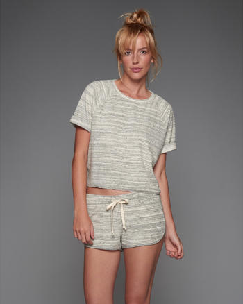 ANF terry Cutoff Sweatshirt