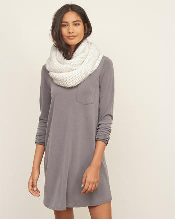 ANF Knit Infinity Scarf