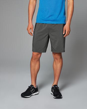ANF Active Zip-Pocket Shorts