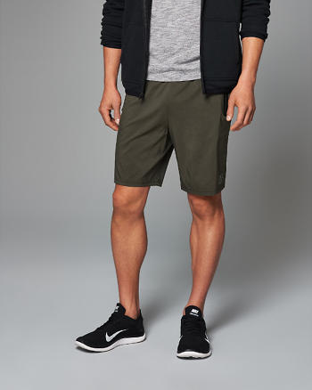 ANF Active Zip-Pocket Shorts
