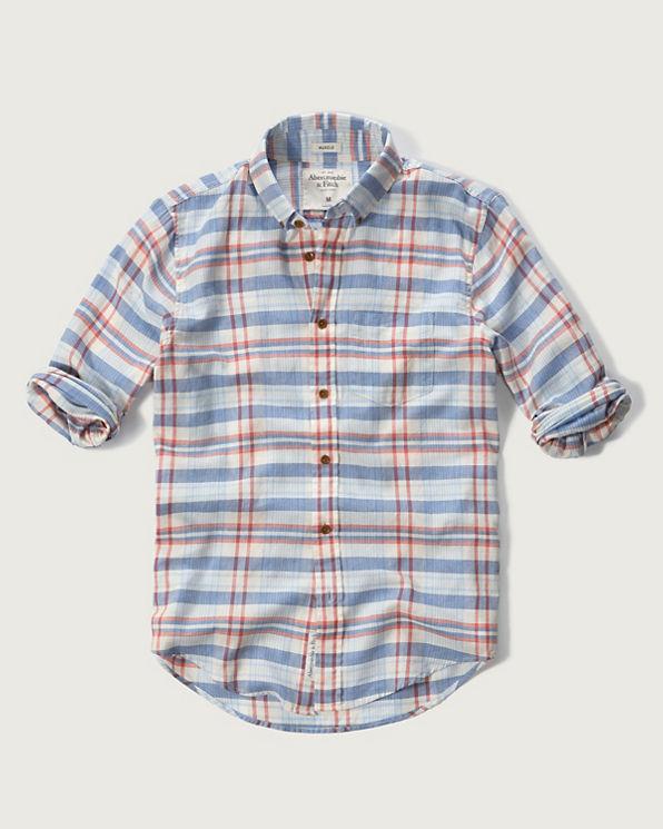 Mens madras plaid shirt mens sale for Mens madras shirt sale