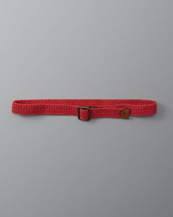 ANF Braided Pull Through Belt