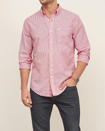 ANF Seersucker Shirt
