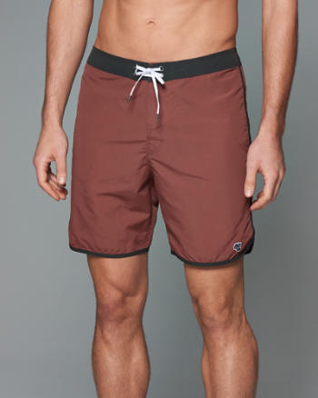 Mens 7'' Trunk Fit Swim Shorts