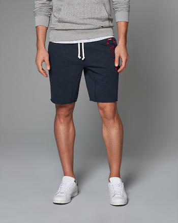 ANF Logo Fleece Shorts