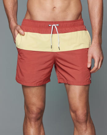 Mens 5'' Guard Fit Swim Shorts