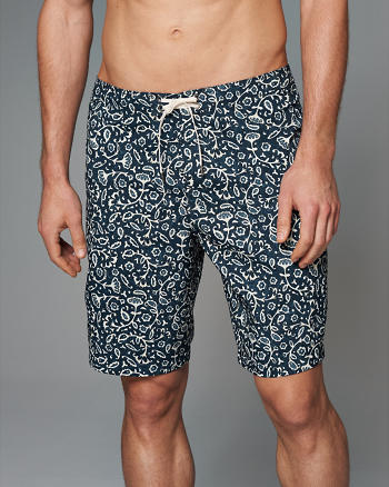 "ANF 9"" Board Fit Swim Short"