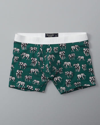 ANF Patterned Knit Boxer Brief