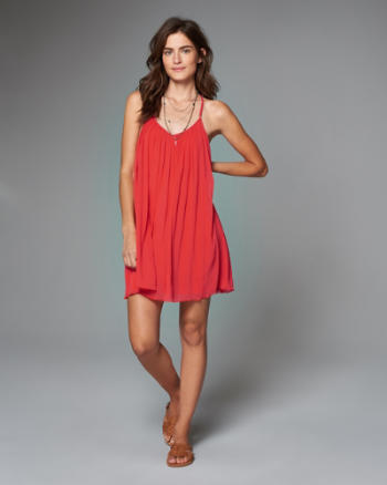 Womens T-Back Swing Dress