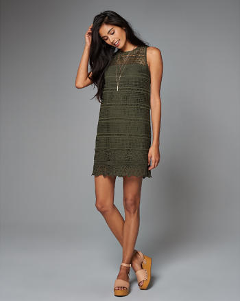 ANF Lace Shift Dress