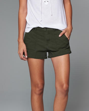 Womens Twill Boyfriend Short
