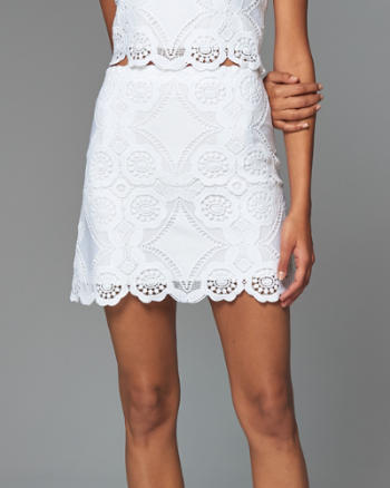 ANF Lace A-Line Skirt