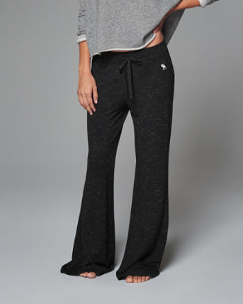 Womens Wide Leg Lounge Pants