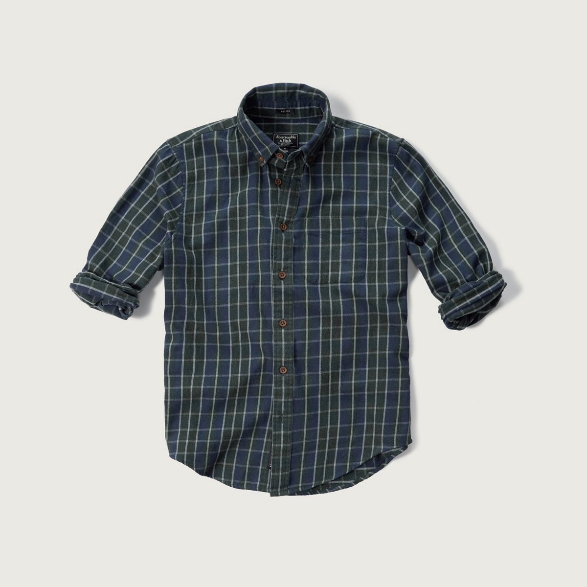 Plaid Textured Shirt