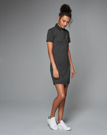 ANF Iconic Polo Dress