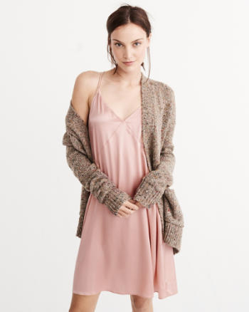 ANF Collection Silk Slip Dress