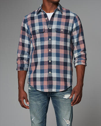 ANF Plaid Shirt