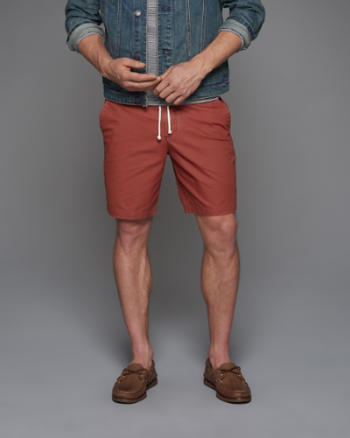 Mens Classic Fit Pull-On Shorts