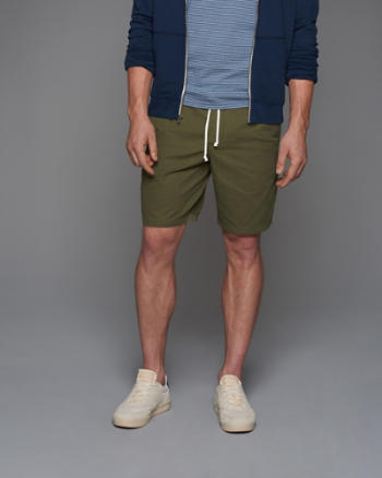 Mens Pull-On Shorts