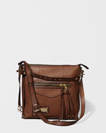 ANF Leather Heritage City Tote