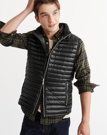 ANF Ultra Lightweight Puffer Vest