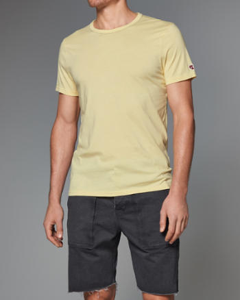Mens Collar Stitch Tee