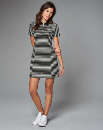Womens Polo Skater Dress