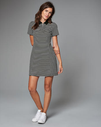 ANF Polo Skater Dress