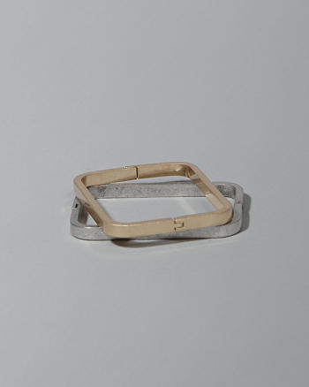 ANF Square Hinge Bangle Set