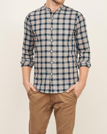 ANF Rustic Texture Shirt