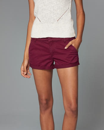 ANF Low Rise Twill Short