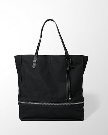 ANF Canvas Expandable Tote