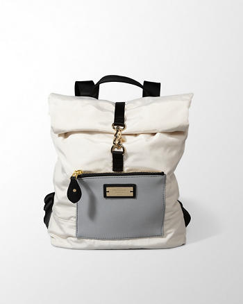 ANF Color Block Backpack