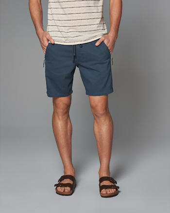 ANF Classic Fit Zip Pocket Pull-On Shorts