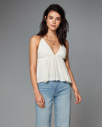Womens Low-Cut Cami