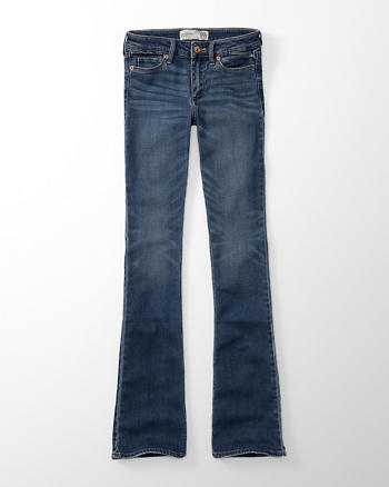 ANF Low Rise Boot Jeans