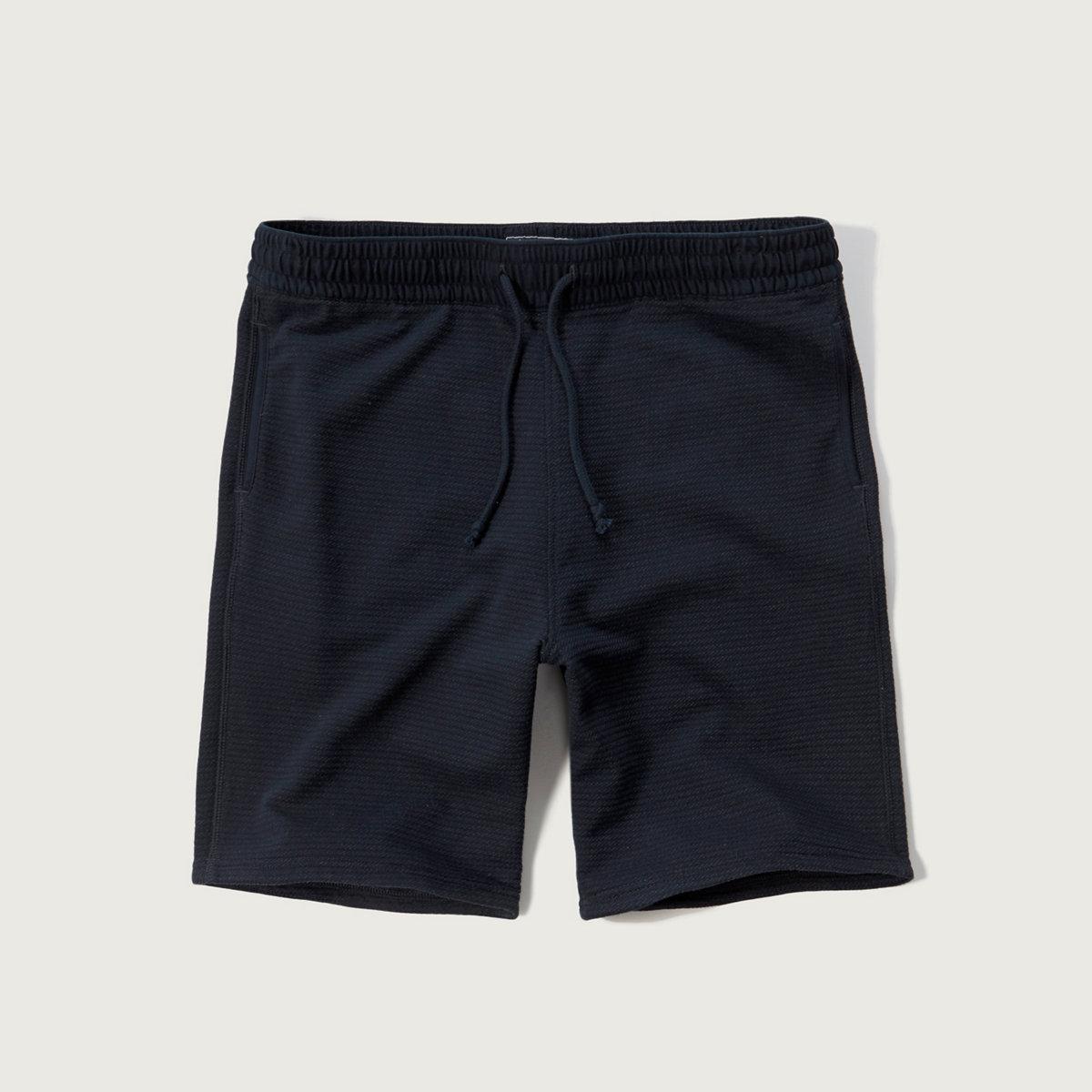 Ribbed Knit Shorts