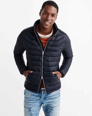 ANF Lightweight Puffer Jacket