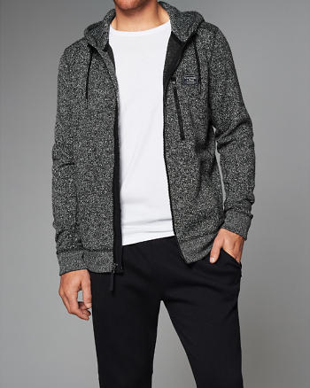 ANF Sweater Fleece Full-Zip Hoodie