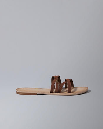 ANF Crossover Slide Sandals