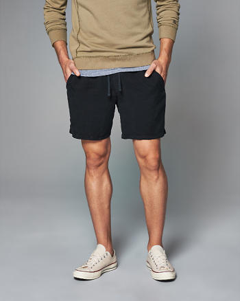 ANF Tencel-Blend Pull-On Shorts