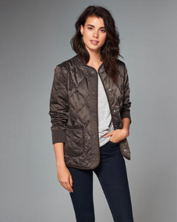 ANF Quilted Liner Jacket