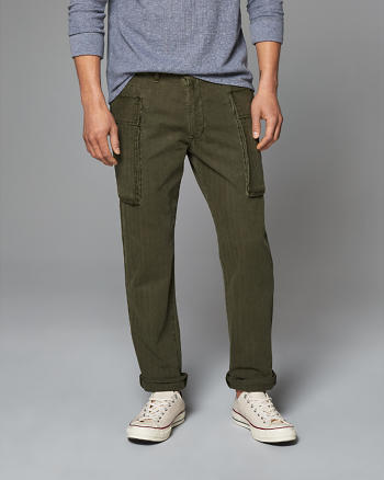 ANF Straight Big Pocket Cargo Pants